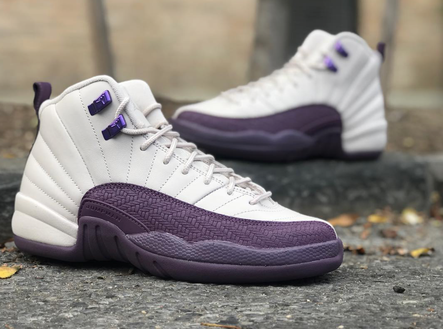 Air Jordan 12 Desert Sand Pro Purple 510815-001