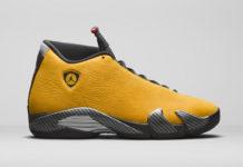 Air Jordan 14 Yellow Ferrari BQ3685-706 Release Date