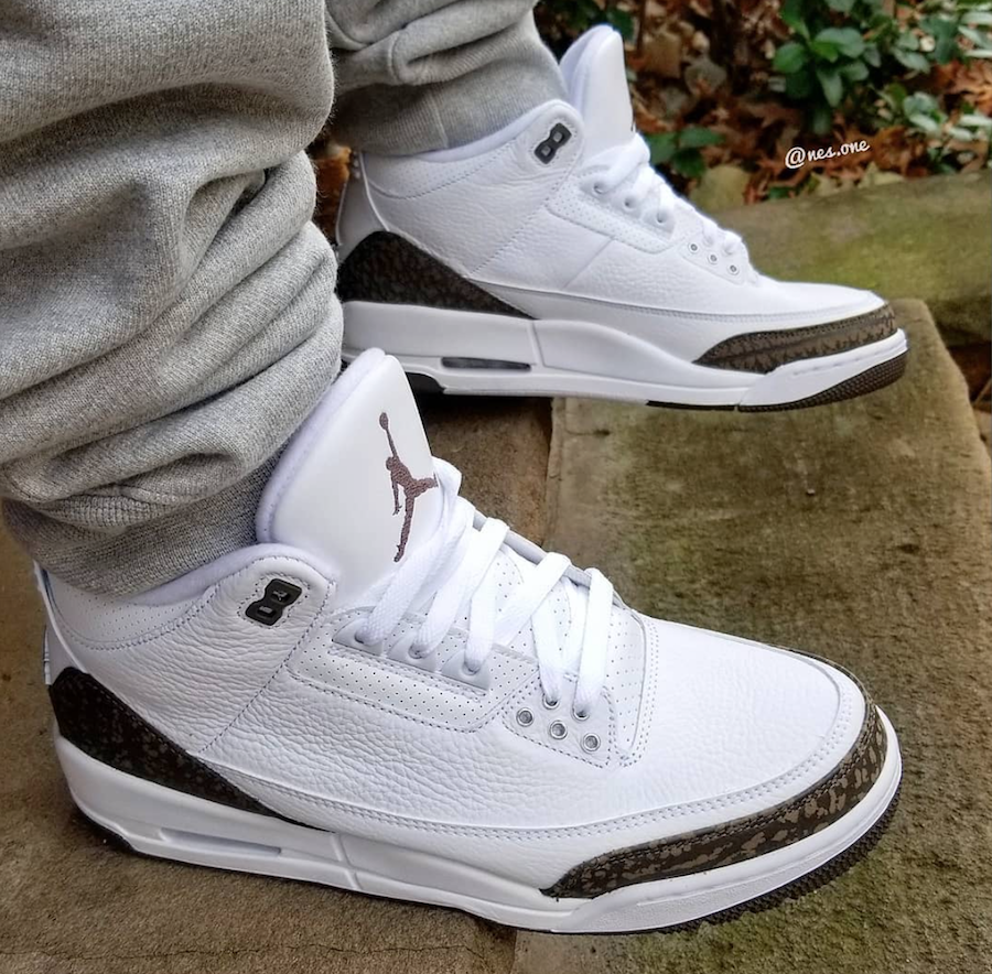Air Jordan 3 Mocha Retro 2018 On Feet