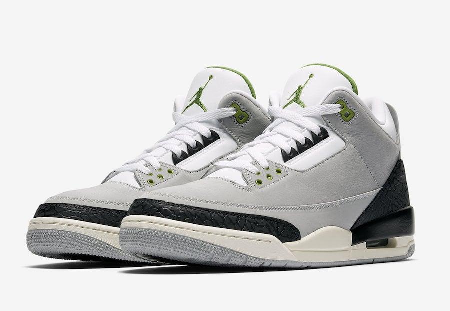 Air Jordan 3 Chlorophyll 136064 006 Release Date | SneakerFiles