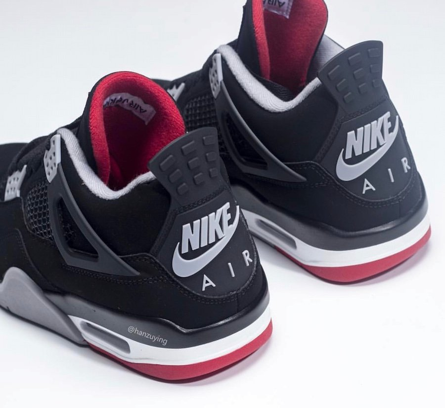 Air Jordan 4 Bred Black Cement 2019 308497-060 Release Date Price