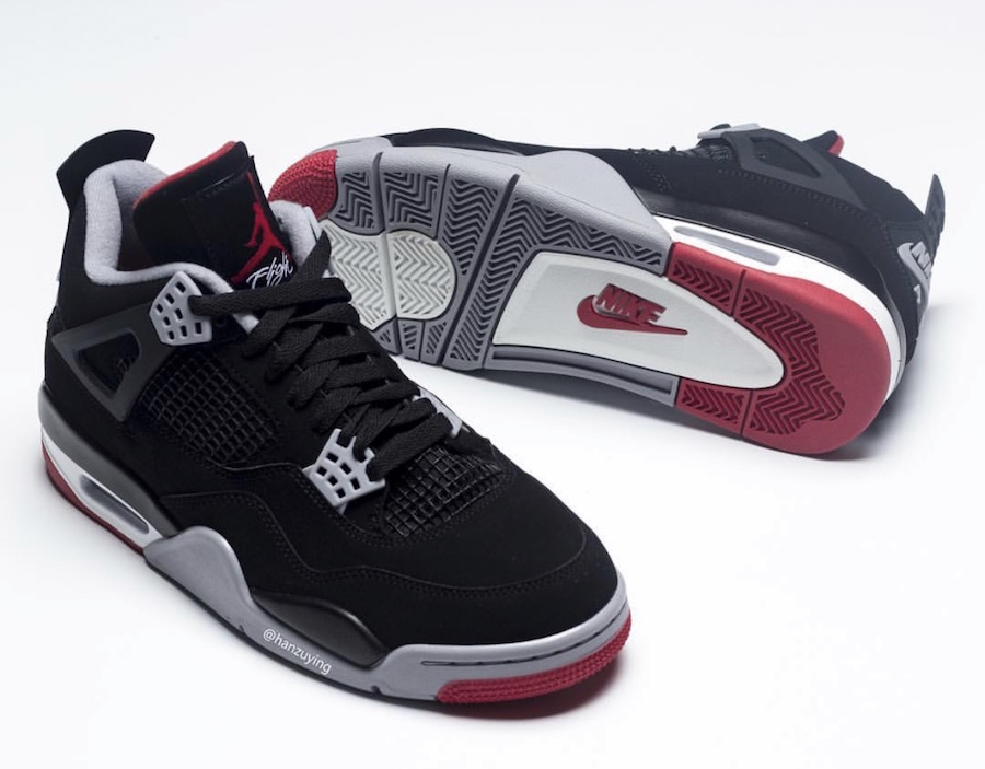 competitive price de9e0 098d5 cheap air jordan iv retro sample black red 84fd5 1abbe  promo code for air  jordan 4 bred black cement 2019 308497 060 release date price 21794