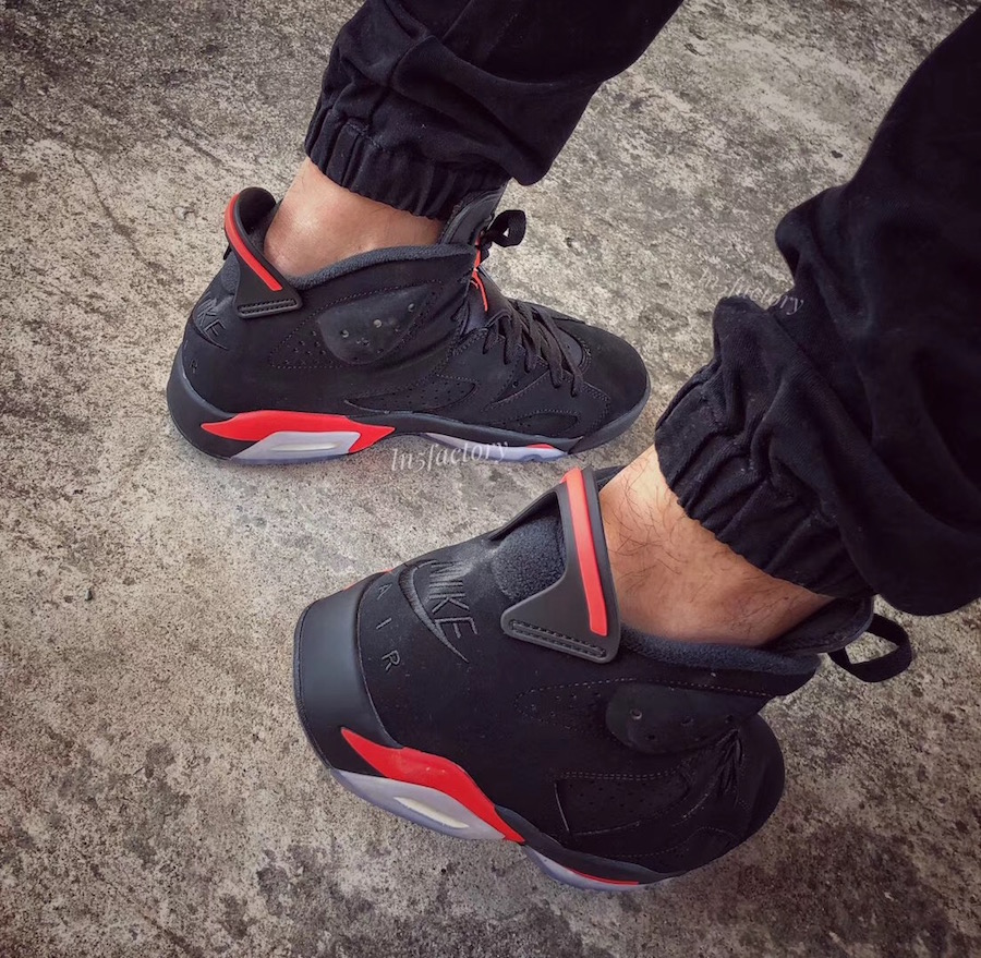 Air Jordan 6 Black Infrared 2019 Retro 384664-060 Release Date