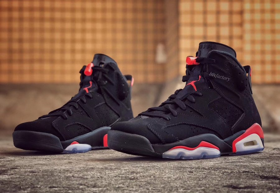 0c129222100a Air Jordan 6 Black Infrared 2019 Retro 384664-060 Release Date