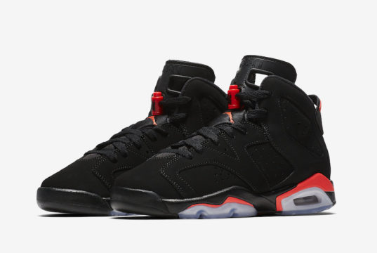 Air Jordan 6 Black Infrared GS Grade School Kids 384665-060 Release Date