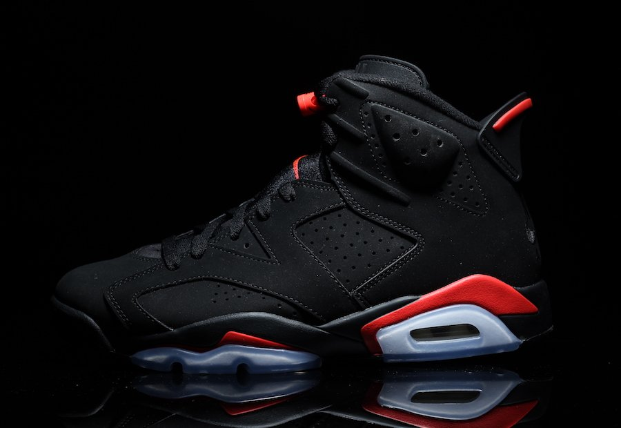 new product a6ef5 af7e2 Air Jordan 6 Black Infrared Retro 2019