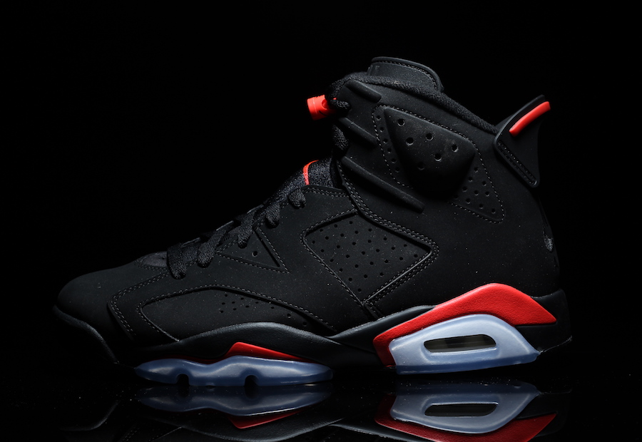 Air Jordan 6 Black Infrared Retro 2019