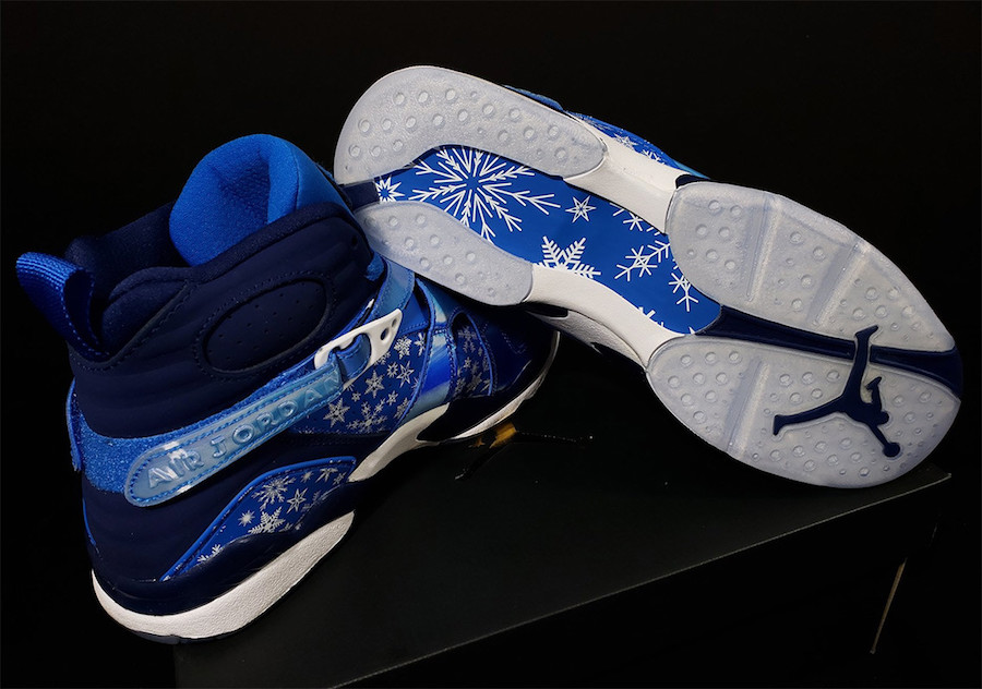 Air Jordan 8 Snowflake 305368-400