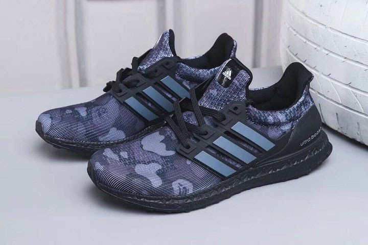 Bape adidas Ultra Boost Black Camo