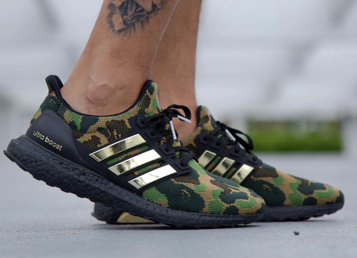 Bape Ultra Boost Release Date + Info | Fashion ideas | Bape