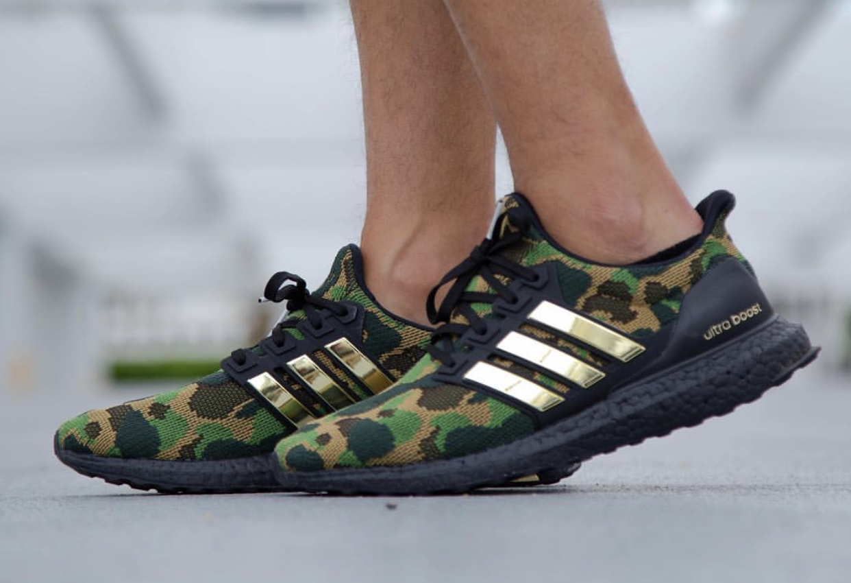 Bape adidas Ultra Boost On Feet