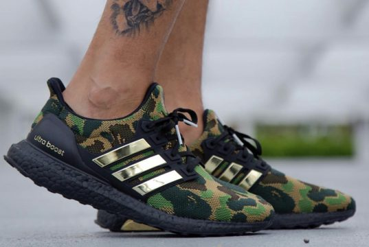 Bape adidas Ultra Boost On Feet