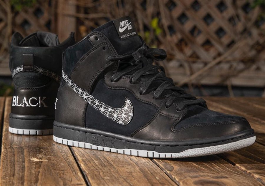 Black Bar Nike SB Dunk High AH9613-002
