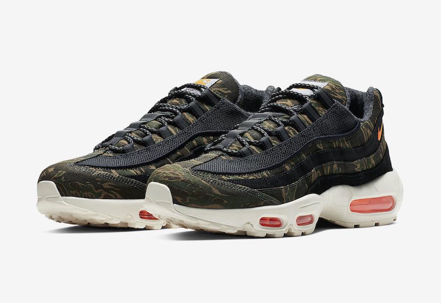 Carhartt Nike Air Max 95 AV3866-001 Release Date | SneakerFiles