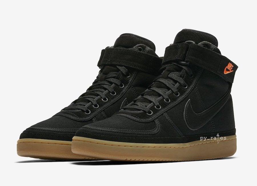 best website 71e35 89e52 Carhartt WIP Nike Vandal High Supreme Black Gum