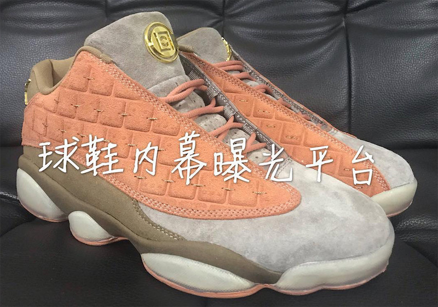 Clot Air Jordan 13 Low AT3102-200