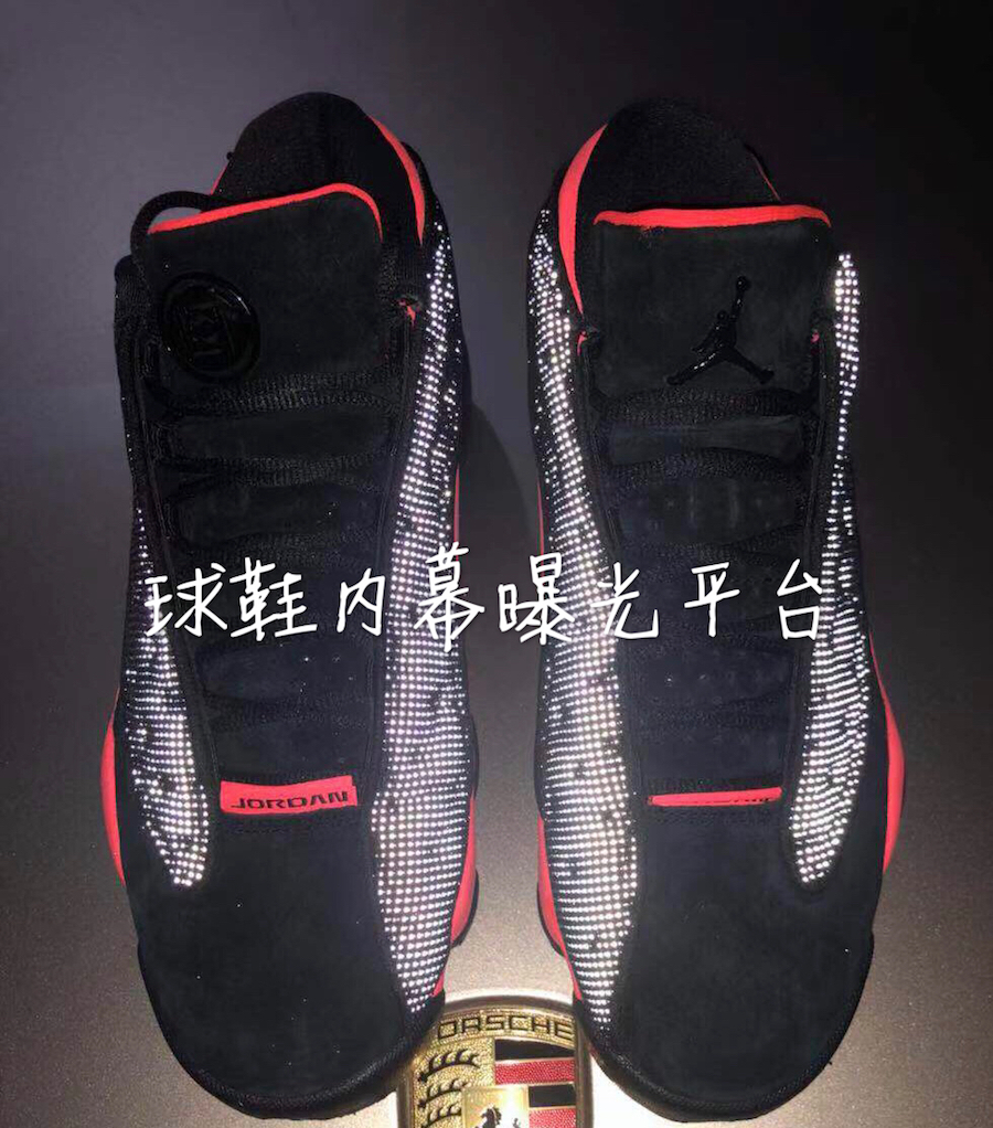 Clot Air Jordan 13 Low Black Infrared AT3102-006