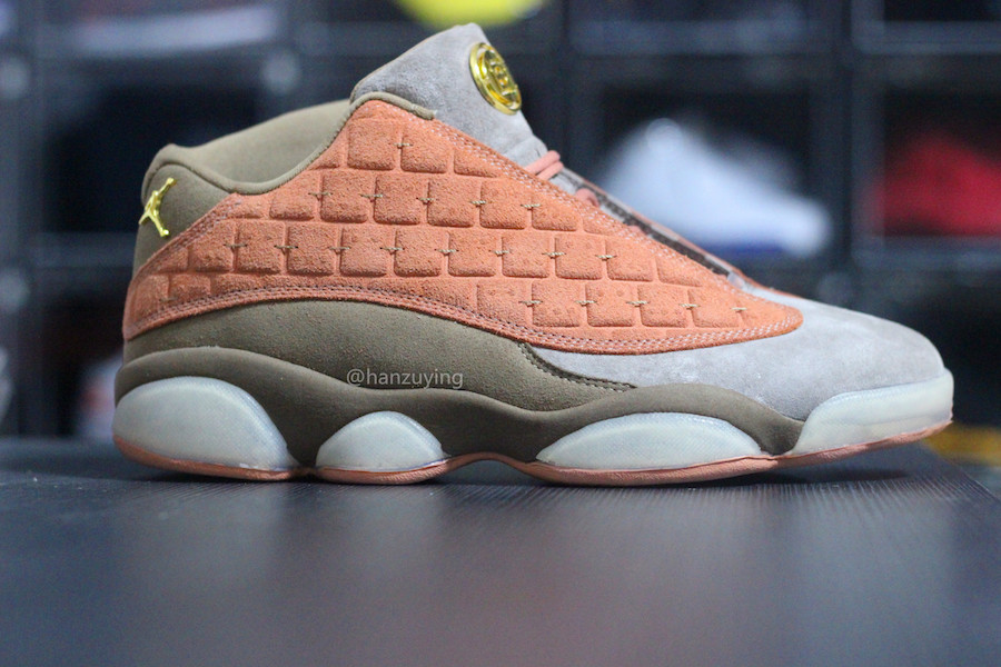 differently e69d6 668c3 Clot Air Jordan 13 Low AT3102-200 Release Date | SneakerFiles