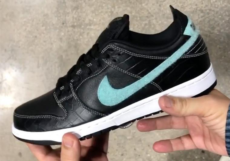 Diamond Supply Co Nike SB Dunk Low Black Diamond