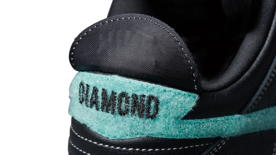 Diamond Supply Co Nike SB Dunk Low Black Diamond Release Date