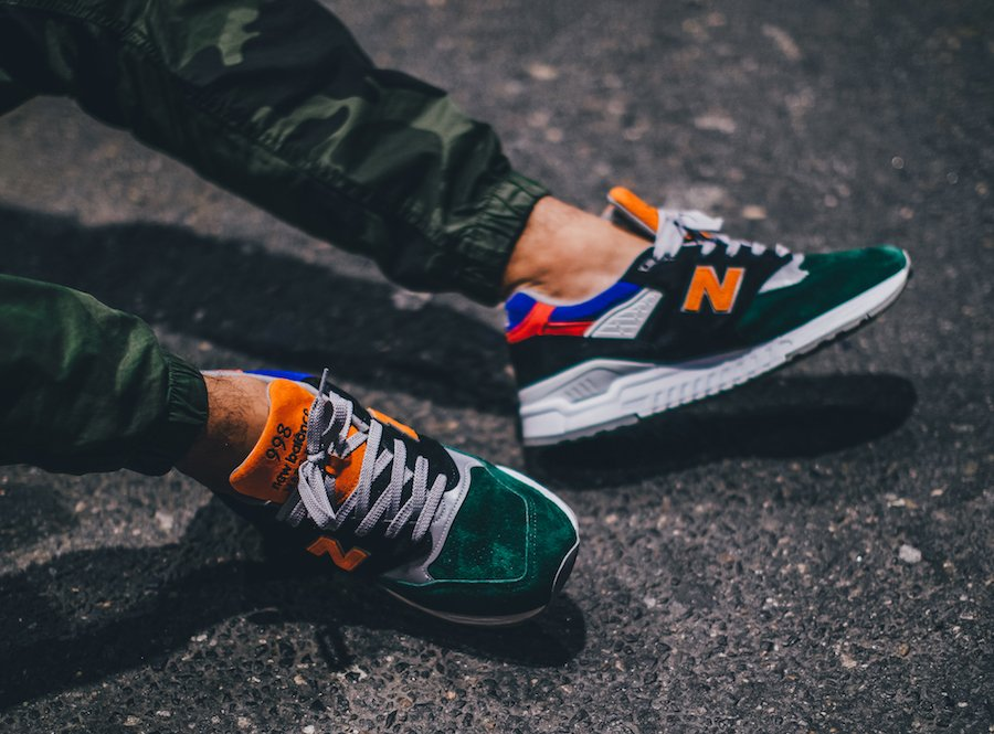 DTLR Villa New Balance 998 Four 4 Four Release Date