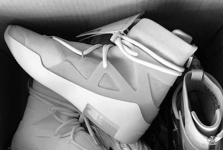 Jerry Lorenzo Nike Air Fear of God 1 Release Date | SneakerFiles