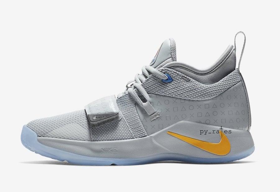 Grey PlayStation Nike PG 2.5