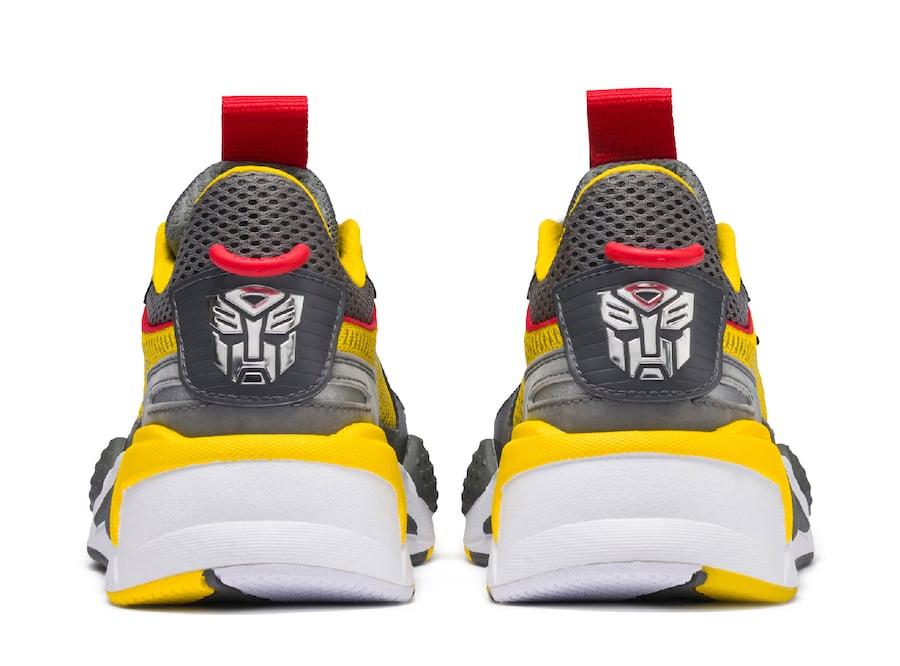 Hasbro Puma RS-X Transformers Bumblebee Release Date