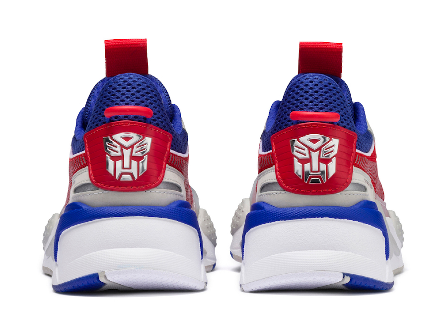 Hasbro Puma RS-X Transformers Optimus Prime Release Date