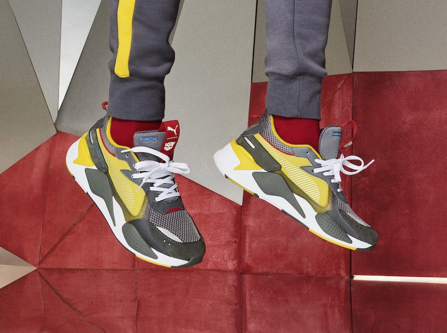Hasbro Puma RS X Transformers Bumblebee Release Date