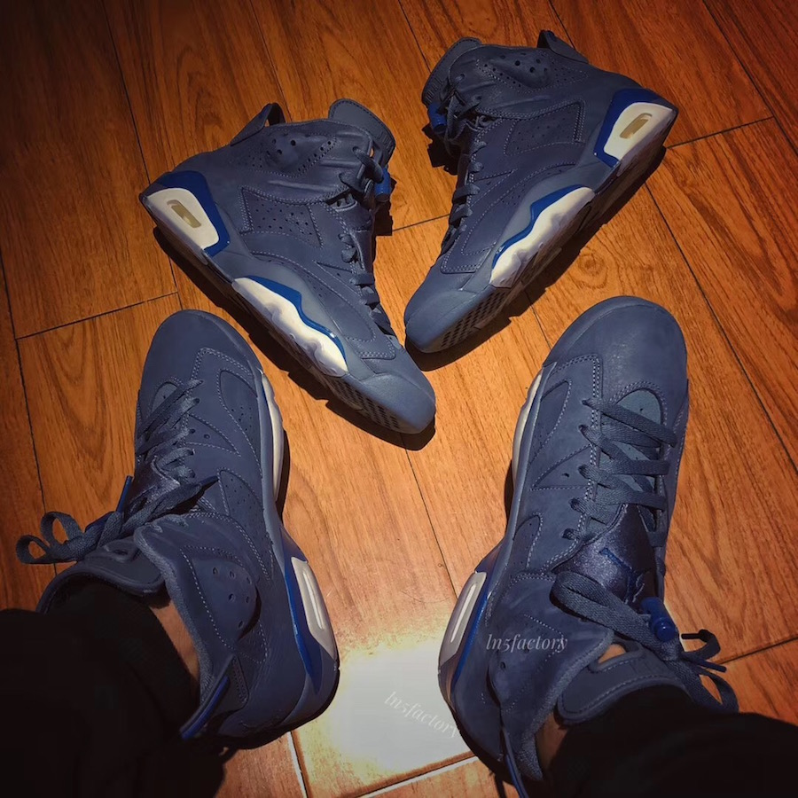 Jimmy Butler Air Jordan 6 384664-400