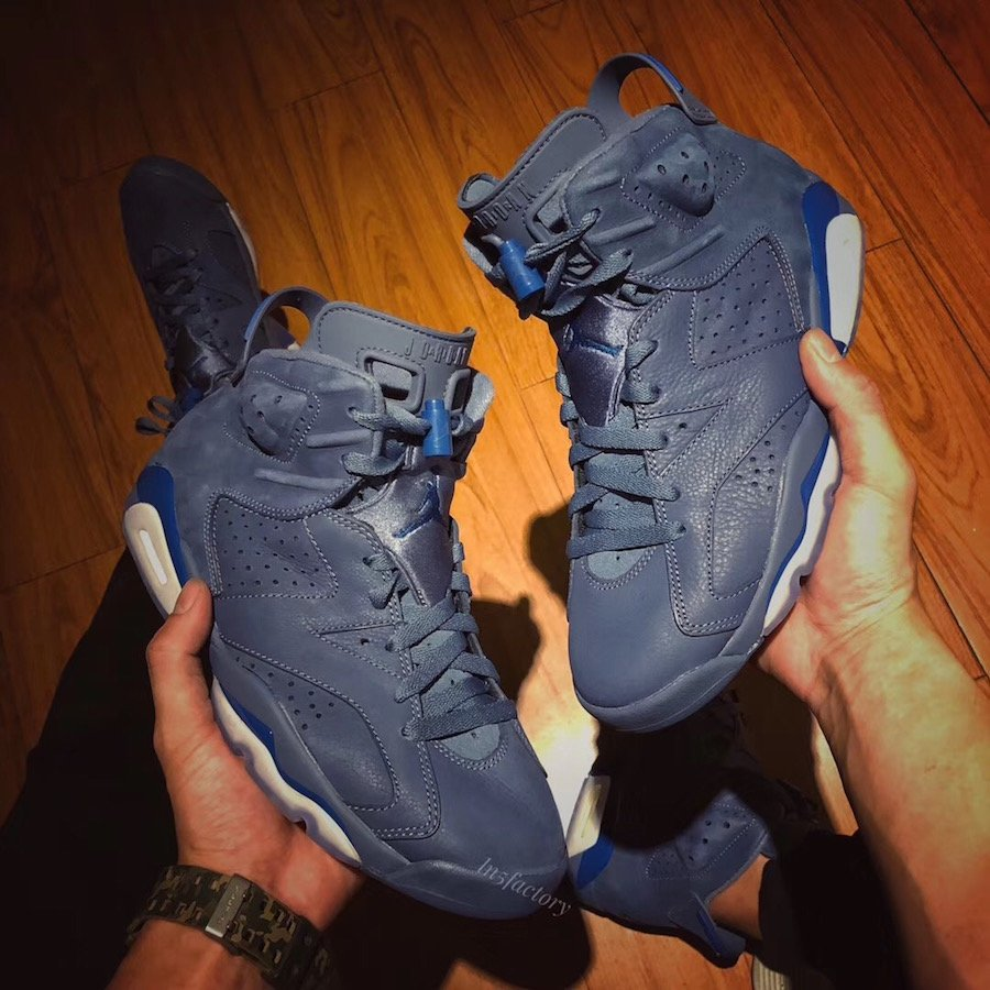 e84ea84d97b Air Jordan 6 Jimmy Butler Diffused Blue 384664-400