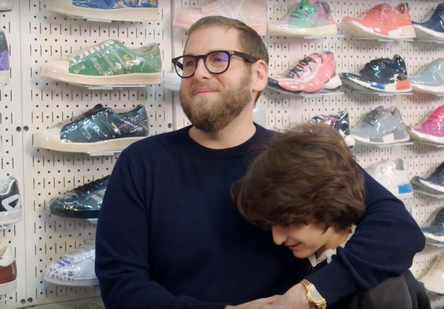 Jonah Hill Sneaker Shopping