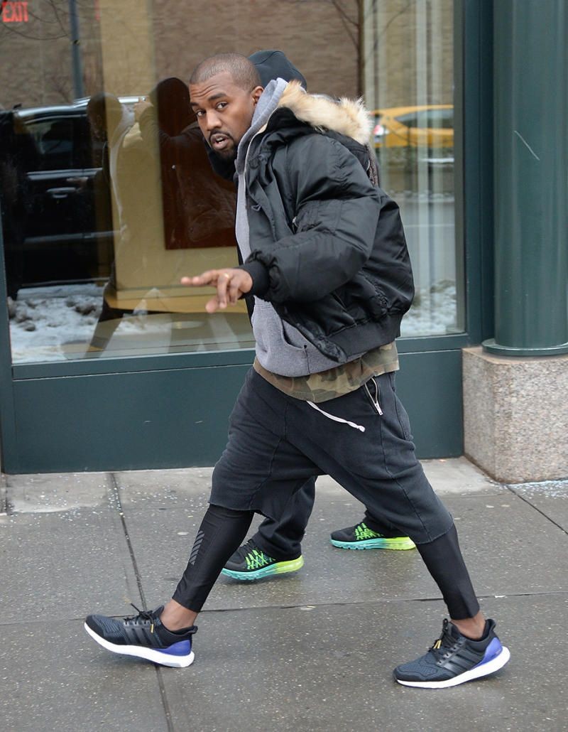 Kanye West adidas Ultra Boost 1.0 OG Black Purple