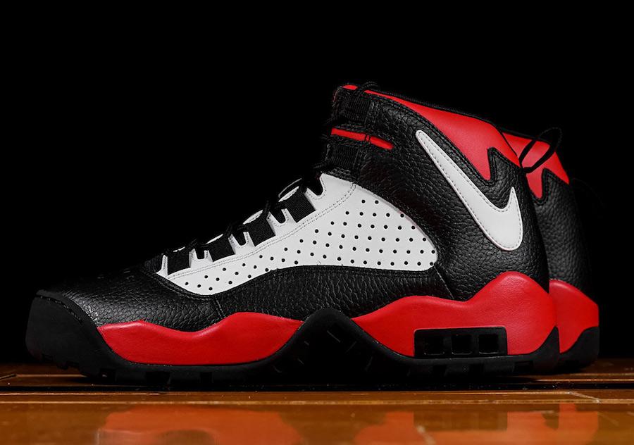 64d4613fe88d8 Nike Air Darwin Bulls Black White University Red AJ9710-001 Release ...