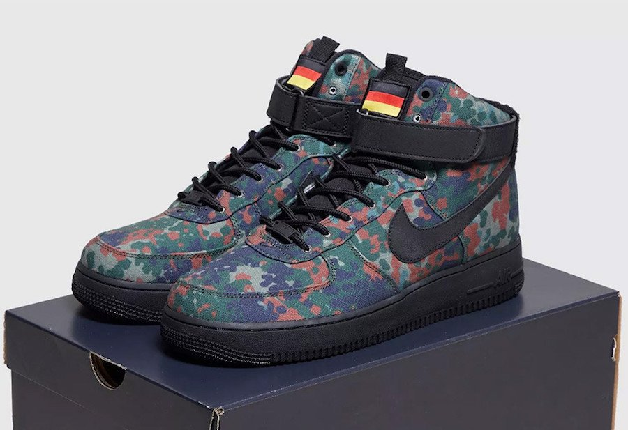 Nike Air Force 1 High Country Camo Germany BQ1669-300