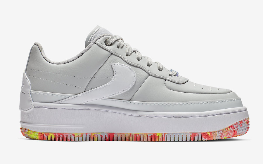 Nike Air Force 1 Jester Pure Platinum Floral Print AV2461-001