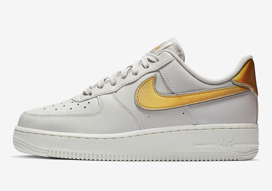 Nike Air Force 1 Low Metallic Swoosh Pack Release Date