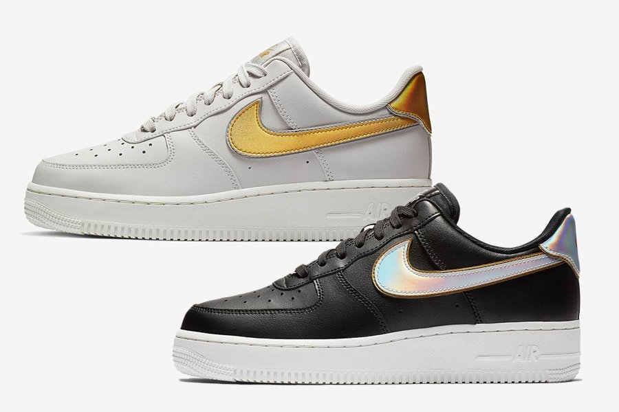 Nike Air Force 1 Low Metallic Swoosh Pack
