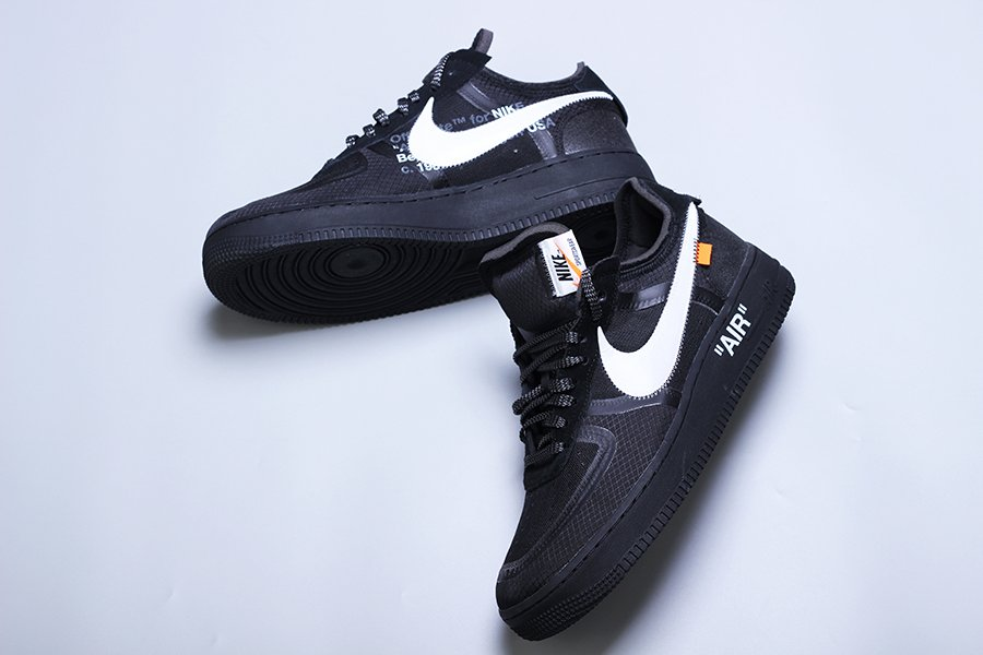 off white air force 1 black outfit