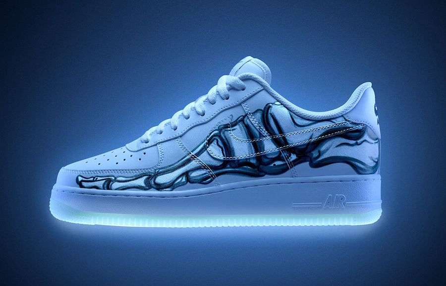 Nike Air Force 1 Skeletal Force White Release Date