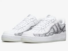 Nike Air Force 1 Skeleton BQ7541-100