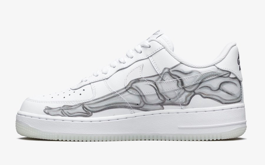 76a00923d7 Nike Air Force 1 Skeleton BQ7541-100 Release Date | SneakerFiles