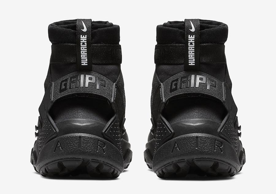 Nike Air Huarache Gripp Black AO1730-002 Release Date