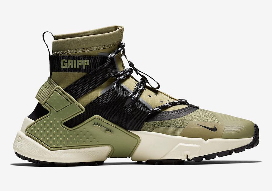 Nike Air Huarache Gripp Olive AO1730-200 Release Date