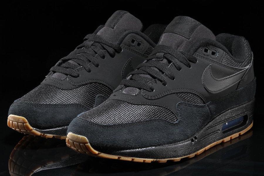 Nike Air Max 1 Black Gum AH8145-007 Release Date