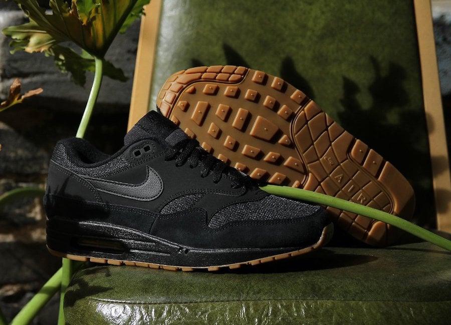 Nike Air 1 Black Gum AH8145-007 Release Date   SneakerFiles