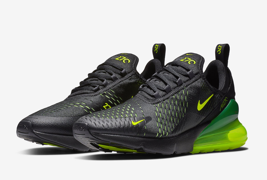 Nike Air Max 270 Black Volt AH8050-017
