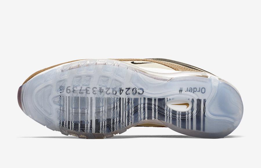 Nike Air Max 97 Shipping Box in braun 921826 201 in 2019
