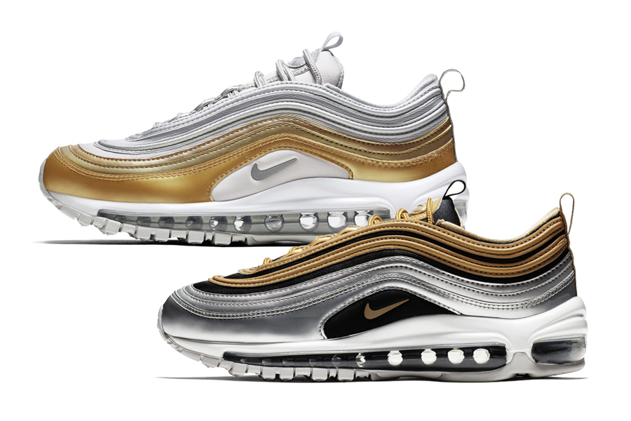 Nike Air Max 97 Metallic Gold Pack AQ4137-001 AQ4137-700 Release Date